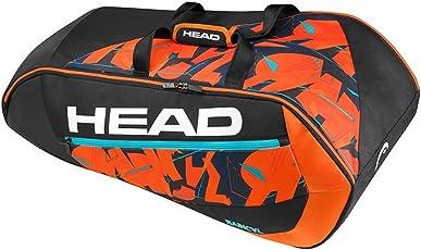 Head Radical 9R Supercombi Tennis Kit Bag (Black-Orange)