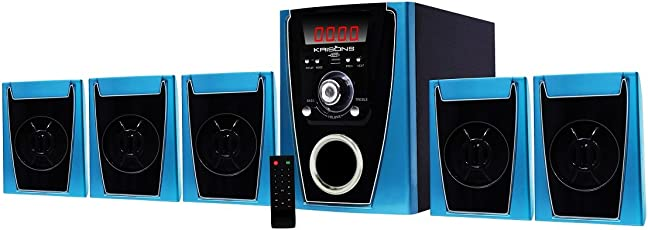 Krisons (Polo) 5.1 Bluetooth Multimedia Speaker For Home/ Theatre With Big Digital Display