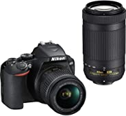 Nikon D3500 DX-Format DSLR Two Lens Kit with AF-P DX Nikkor 18-55mm f/3.5-5.6G VR & AF-P DX Nikkor 70-300mm f/4.5-6.3G ED (B