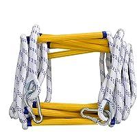 Fluchtleiter für Notfälle Schnell flammwidrige Fluchtleiter für Notfälle mit Haken für Kinder und Erwachsene…