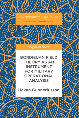 Bordieuan Field Theory as an Instrument for Military Operational Analysis (New Security Challenges)