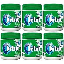 Orbit - Chicle Sin Azúcar Hierbabuena 60 grageas - [Pack 6]