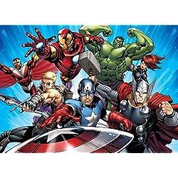 Los Vengadores - Capitan América, Iron Man, Hulk Póster Fotomural (160 x 115cm)