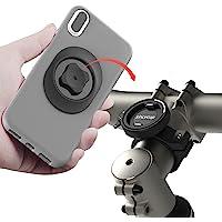 Handyhalterung Fahrrad, Handy Fahrradhalterung Stabile Metall Fahrrad Handyhalter Smartphone Halterung mit Ultra Lock…