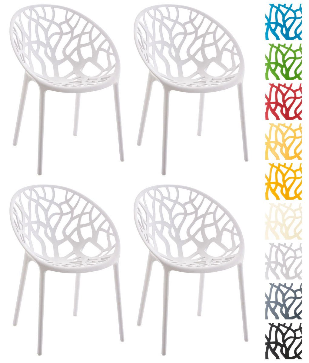 Clp 4er Set Design Gartenstuhl Hope Aus Kunststoff I 4x
