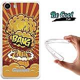 Becool® Fun - Funda Gel Flexible para Wiko Lenny 2 .Carcasa TPU fabricada con la mejor Silicona , protege y se adapta a la perfección a tu Smartphone y con nuestro diseño Explosión