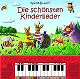 Spielst du mit? Die schönsten Kinderlieder - Pappbilderbuch mit Klaviertastatur