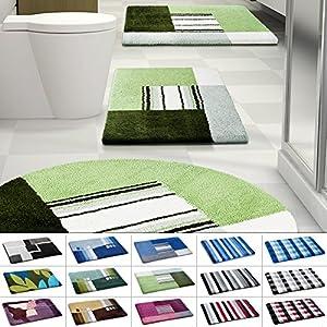 badematte gr n set deine. Black Bedroom Furniture Sets. Home Design Ideas