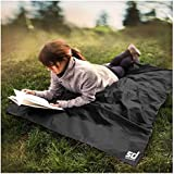 Smiledrive Outdoor Beach Picnic Blanket Mat – Easily Foldable/Portable Camping Gear, Size: 170 x 140cm