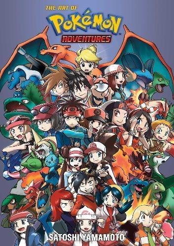The Art of Pokémon Adventures: Pokémon Adventures 20th Anniversary Illustration Book