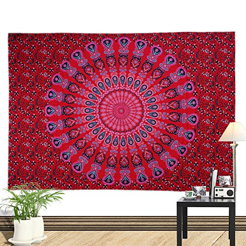 BBQBQ Gedruckt Home Tapisserie wandbehang wanddekoration Strandtuch Totem blanket-01 150 * 210 cm