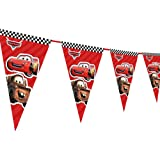 WoW Party Studio McQueen Car Theme Happy Birthday Decorations Flag pennants Buntings Banner - 10ft Long #2