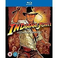 Indiana Jones: The Complete Adventures [Blu-ray] [Region Free]