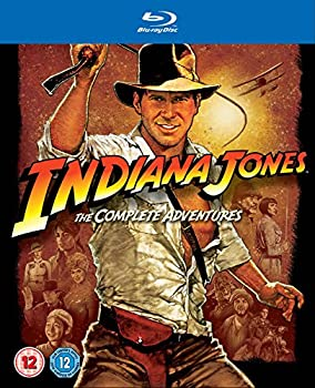 Indiana Jones: The Complete Adventures [Blu-ray] [Region Free]