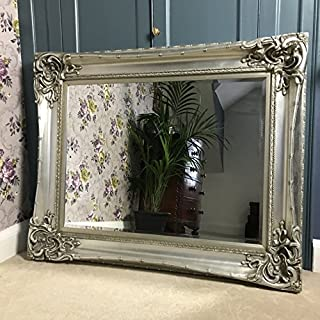 Ayers and Graces Large Silver Monte Carlo Mirror (3ft 7