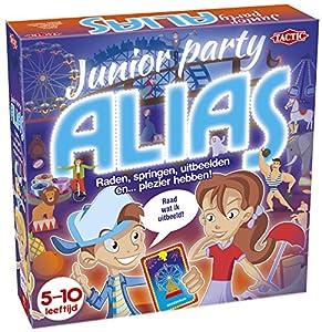 Tactic Junior Party Alias Niños Party Board Game - Juego de Tablero (Party Board Game, Niños, 20 min, Niño/niña, 5 año(s), 200 Pieza(s))