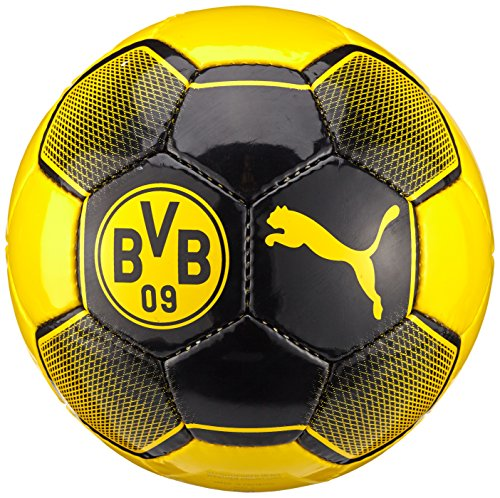 PUMA Dortmund Ball HS Fair Trade, Cyber Yellow/Puma Black, 3, 082694 01 (Ball Fußball Puma)