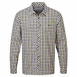 Craghoppers Herren Outdoor Reise Claude Langarm Hemd, Dusk Blue Check, XL, CMS513   11H80