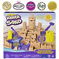 Kinetic Sand - Beach Sand Kingdom Playset with 3lbs of Beach Sand, for Ages 3 and Up