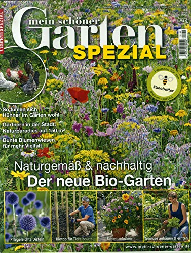 """Preisvergleich Produktbild Mein schöner Garten Spezial 181 / 2019 """"Der neue Bio - Garten"""""""