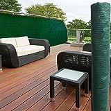 ProBache - Brise vue vert 1,5 x 10 m 90 gr/m² classique