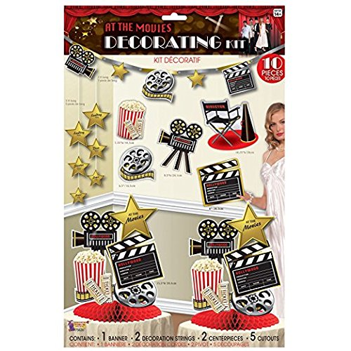 At the Movies-décor Kit (Stars Hollywood Film Dress Fancy)
