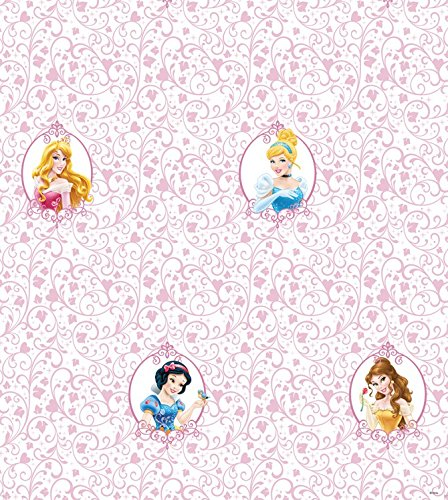 Preisvergleich Produktbild 1art1 106608 Disney Prinzessin - Belle,  Cinderella,  Aurora and Snow White,  Disney Fototapete Poster-Tapete 1000 x 53 cm