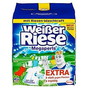 Weißer Riese Megaperls, 20 Waschladungen