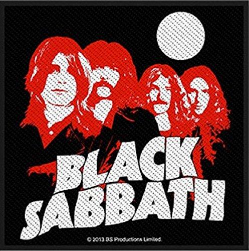 Preisvergleich Produktbild Aufnäher Patch - Black Sabbath - Red Portraits