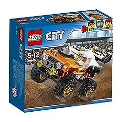 City - Monster-TruckSetz dich ans Steuer des LEGO® City Monster-Trucks und bereite dich auf einige gewaltige Sprünge vor. Das Set enthält einen Truck mit gewaltigem Heckspoiler und großen Stollenreifen sowie eine Minifigur.Details Enthält den Fahr...