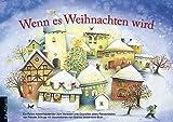 Wenn es Weihnachten wird: Ein Folien-Adventskalender zum Vorlesen und Gestalten eines Fensterbildes