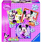 Ravensburger Disney Minnie Mouse 3 in a Box Jigsaw Puzzles