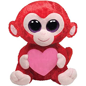 Ty Plush–Beanie Boo's Valentine's Day–TY36104–Charming Le Singe