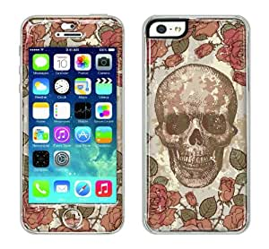 Flapsta iPhone5/5s Gel Case +Front Gel Skin/ Skull Republic
