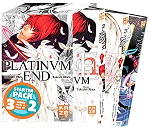 Platinum End Starter Pack Tomes 1 à 3