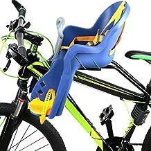 Silla Delantera Bebé Niños para Bicicleta, Asiento Delantero con Agarradero.
