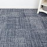 Schwere Pflicht Milliken Qualität Büro Teppich Fliesen–gemustert–Dunkelblau–3.76M2
