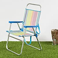 Habita Home Silla Playa Aluminio 51x56x90/d22 Color 1 Diseño