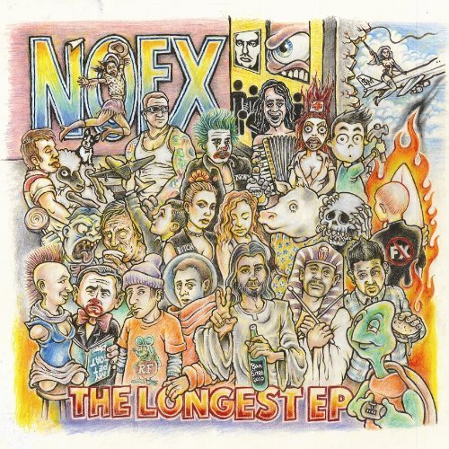 The Longest EP by NOFX (2010) Audio CD