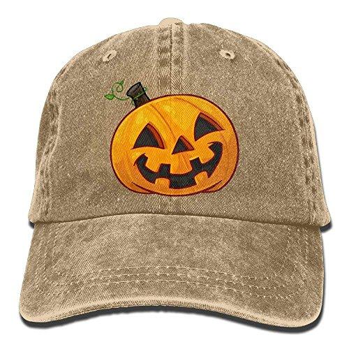 EJudge Denim Baseball Cap Happy Pumpkin Adult Vintage -