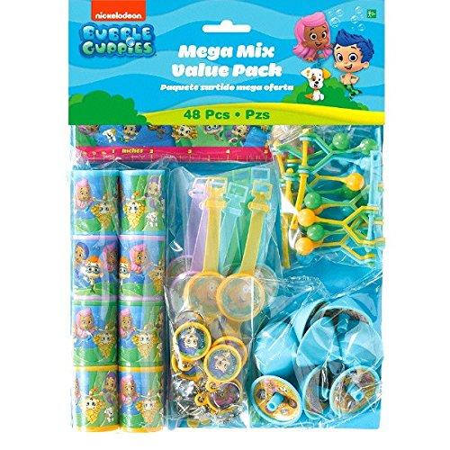 Amscan 394631Bubble Guppies Mega Wert für Packungen (Bubble Guppies Halloween)