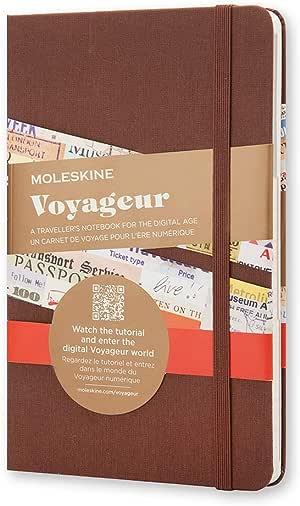 Moleskine Carnet de voyage 18 x 11.5 cm couleur Muscade