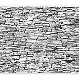murando - Fototapete Steinoptik 3D 500x280 cm - Vlies Tapete -Moderne Wanddeko - Design Tapete - Stadt Textur City f-A-0474-a-d