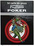 NTP 00029 - Poker Long Life Carte da Gioco, Blu