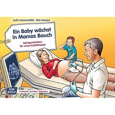 Ein Baby wächst in Mamas Bauch. Kamishibai Bildkartenset.: Entdecken. Erzählen. Begreifen: Sachgeschichten.