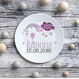 Teller Kinderteller Melaminteller Kunststoffteller Ramona