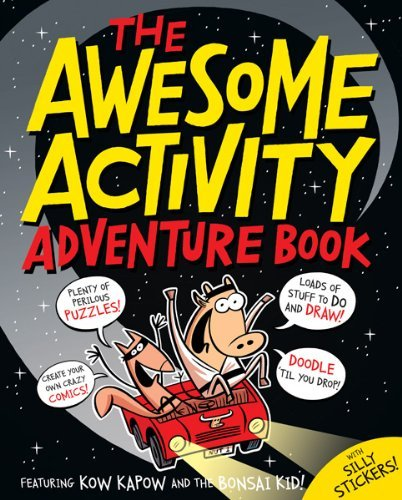The Awesome Activity Adventure Book: Featuring Kow Kapow and the Bonsai Kid! by Beach (1-Apr-2012) Paperback par  Beach (Broché)