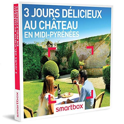 SMARTBOX - Coffret Cadeau homme femme couple - 3 jours délicieux au château en...