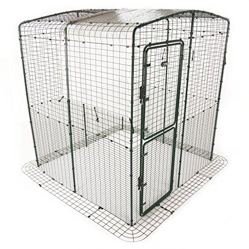 Bâche transparente pour grand enclos - 3 mètres