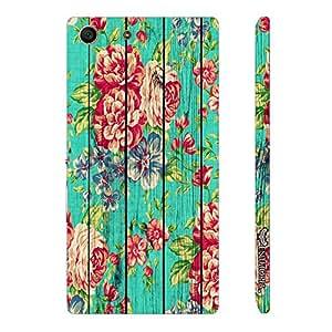 Sony Xperia M5 Wild Garden designer mobile hard shell case by Enthopia